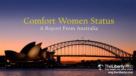 Comfort Australia by Comfort Status A Report From Australia The
