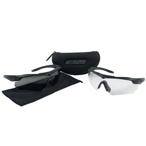 Ess Crossbow Sunglasses Black Rep 740 0504 Ess Crossbow Ballistic Eyeshield Sunglasses 2x