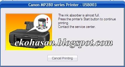reset mp287 absorber full computer devices how to reset error code e08 in canon