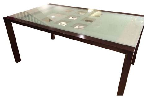 ligne roset extend glass dining table 6 chairs modern