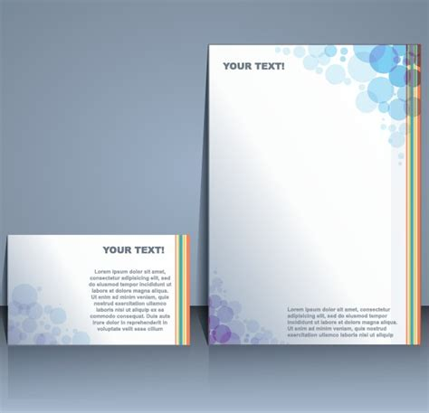 free templates for booklets designs business templates with cover brochure design vector 01