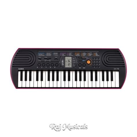 Keyboard Casio Mini casio sa 78 mini keyboard buy in lowest price at raj musicals delhi india