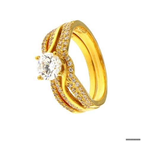 Wedding Rings India by 22ct Indian Gold Wedding Ring Set 163 496 01 Rings