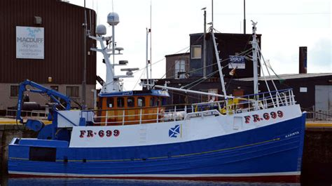 fishing boat accident fraserburgh trawlermen rescued from boat fire off fraserburgh