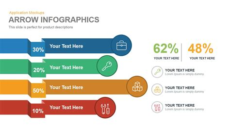 arrow infographics powerpoint keynote template slidebazaar