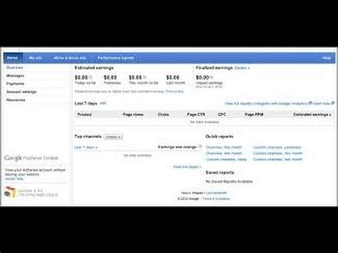 adsense vs network youtube adsense vs network earnings comparison video