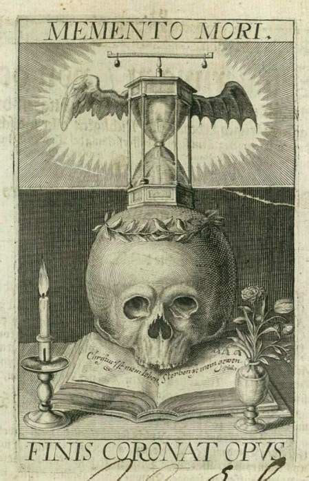 Memento Mori - the memento mori and jane rainwater s evil flowers