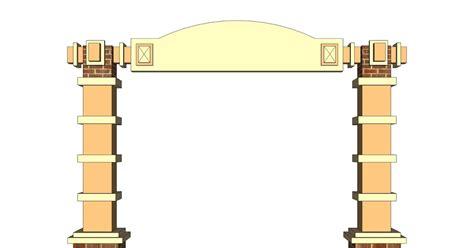 desain gapura irawan febrianto design contoh gapura