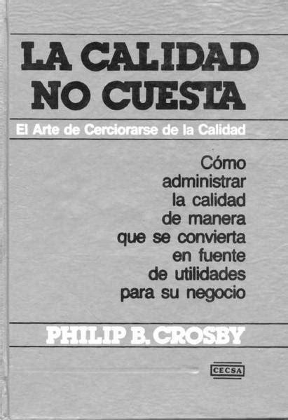 Crosby - Mejoras para la Calidad