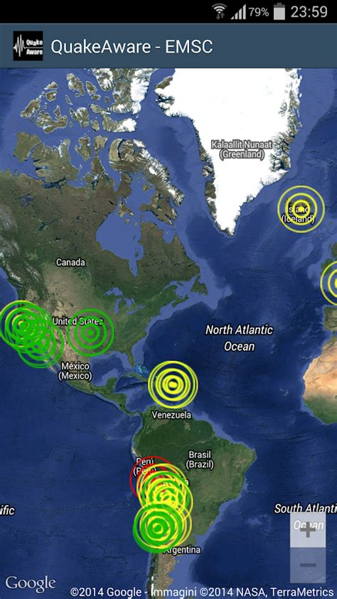 earthquake near me today quakeaware earthquakes near me android apps on google play