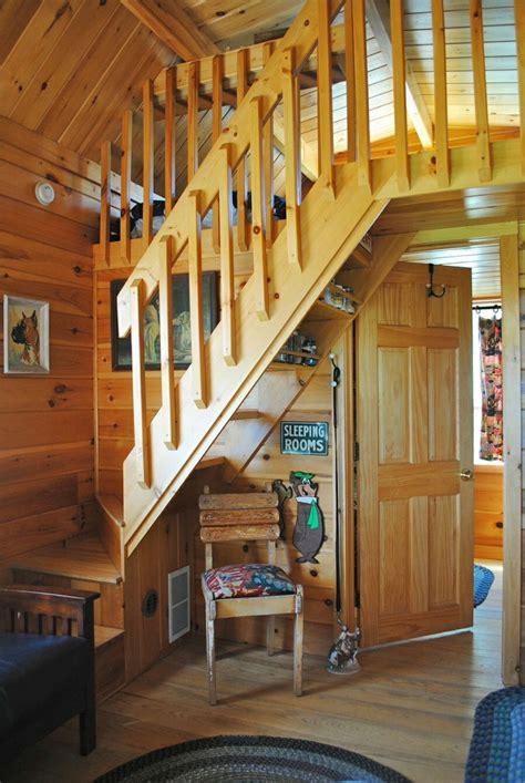 badrap tiny cabin stairs  bedroom loft amazing tiny