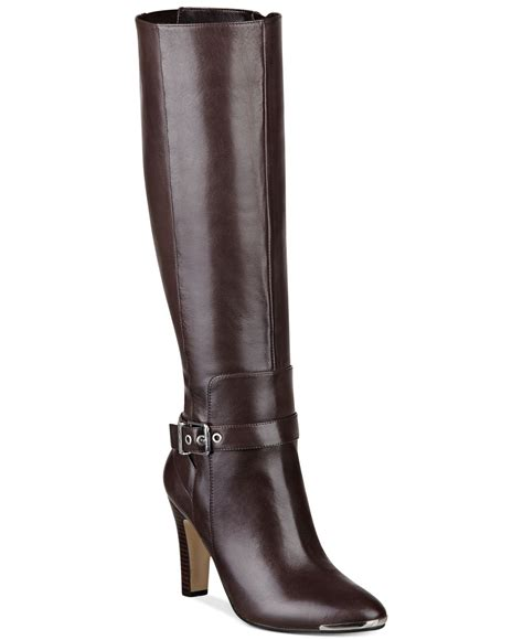 marc fisher boots marc fisher ibis dress boots in brown brown