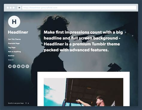 themes for navigation tumblr 17 best images about tumblr themes on pinterest posts