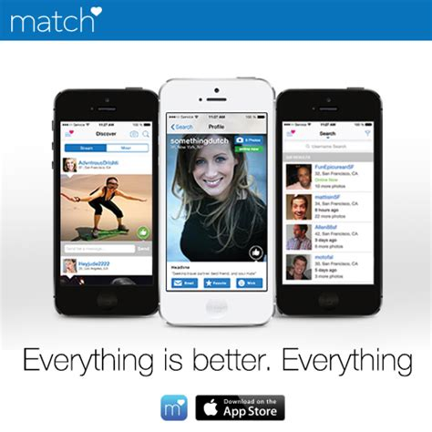match mobile app match launches brand new app for iphone and ipod touch