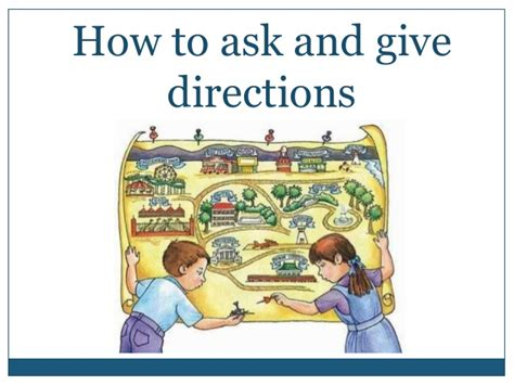 how to ask and give directions