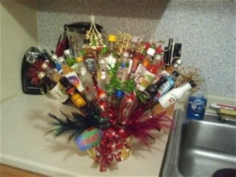 christmas booze gifts minis baskets and liquor on