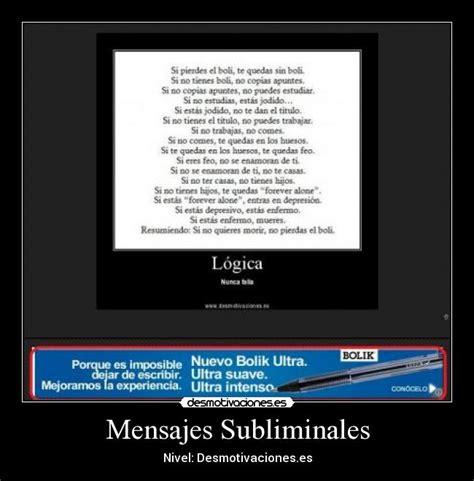 mensajes subliminales filosofia mensajes subliminales desmotivaciones