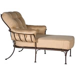 Wrought Iron Chaise Lounge Master Owlc094 Jpg