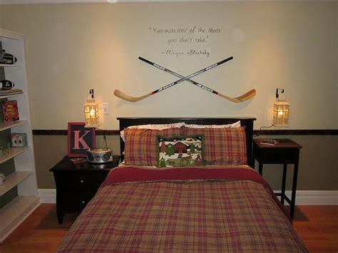 hockey bedroom ideas 44 best hockey room ideas images on pinterest