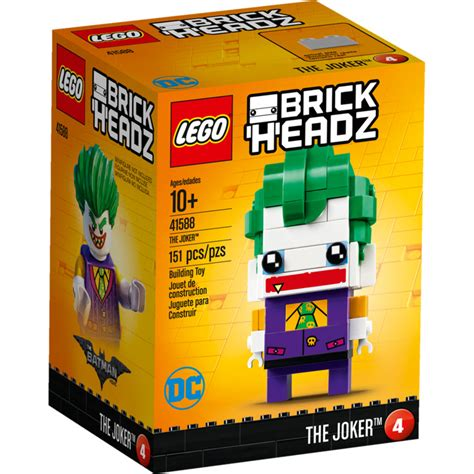 Lego 41588 Brick Headz The Joker lego brick headz the joker set 41588 new in box ebay