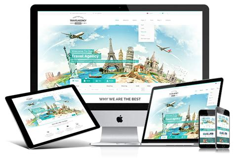 bootstrap templates for travel website travel agency bootstrap template by mecovache themeforest