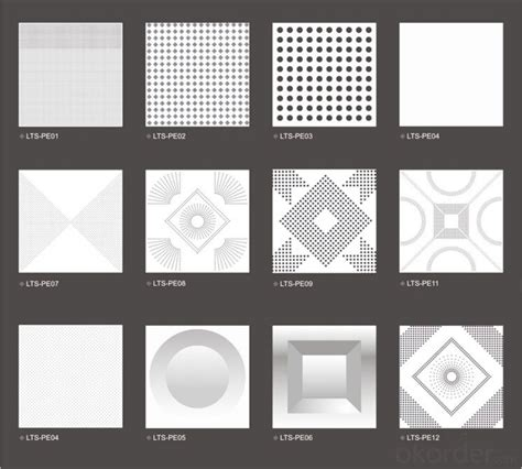 Ceiling Materials Types by Buy New Aluminum Ceiling Panels Qc1014 Price Size Weight Model Width Okorder