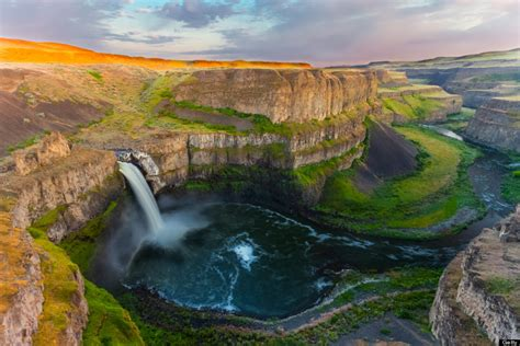 most scenic states palouse falls in washington united states travel