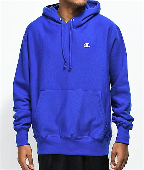Hoodie Blue chion weave surf the web blue hoodie zumiez