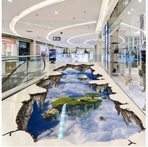 aliexpress buy 3d extend space sky 3d floor stickers