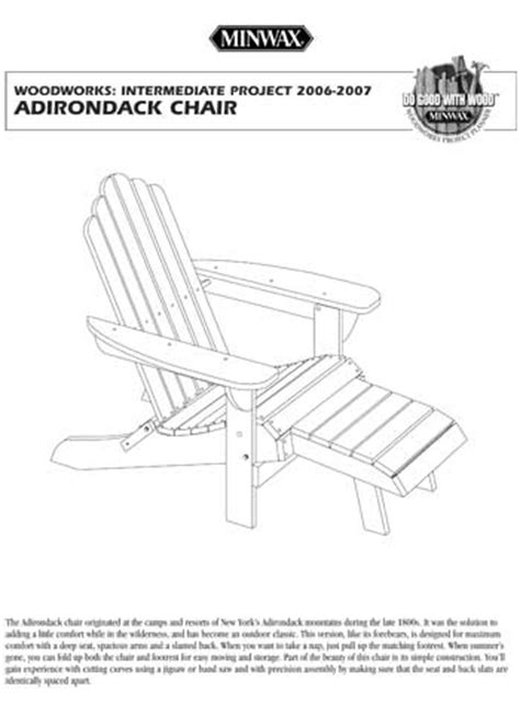 adirondack chair templates pdf diy adirondack chair plan templates