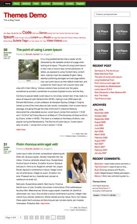 themes wordpress gpl tembesi free gpl wordpress themes jauhari net