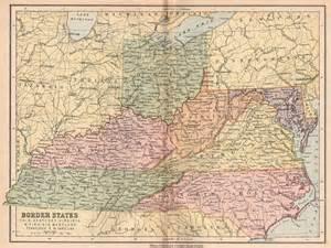 map of virginia and carolina border appalachia ohio kentucky virginia wv maryland tennessee n