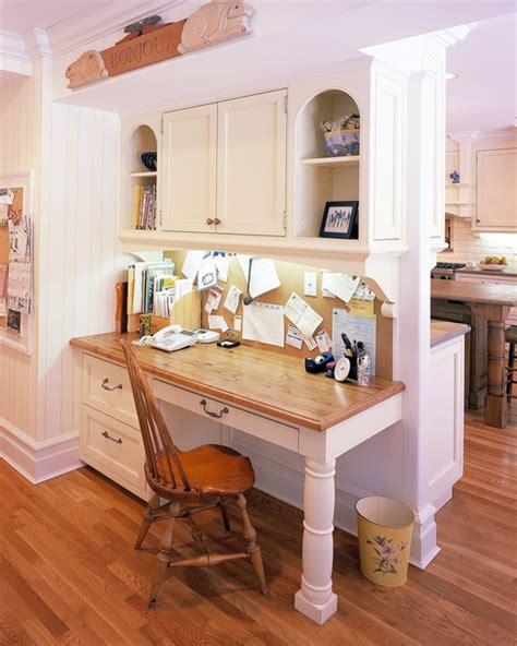 new canaan ct kitchen desk area