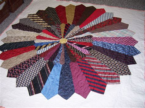 Quilt Made From Ties by Necktie Quilt Quot The Ties That Bind Quot Quilting