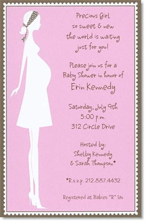 baby shower messages for invitations 10 best simple design baby shower invitations wording