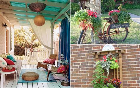 garden decorating ideas on a budget how to decorate outdoor pots of plants home interior design