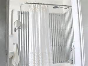 Sheets of corrugated metal available at most home depot stores make