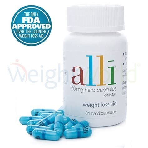 Alli Diet Pill Approved By Fda by Alli Orlistat Clinically Proven Weight Loss Pills