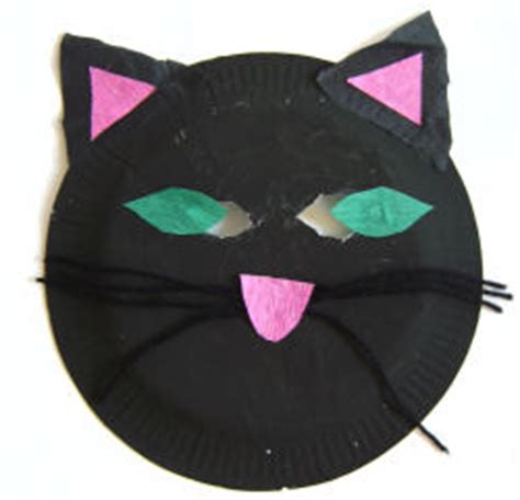 How To Make A Cat Mask Out Of Paper - cat mask craft