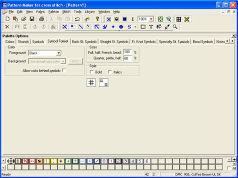 cross stitch pattern maker free mac pattern maker for cross stitch software informer screenshots