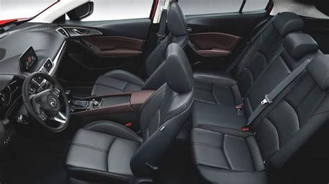 mazda 3 interior pictures mazda 3 2017 dimensions boot space and interior