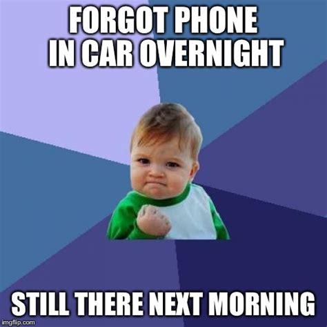 Forgot Phone Meme - success kid meme imgflip