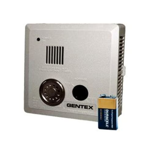 gentex battery operated photoelectric smoke alarm with