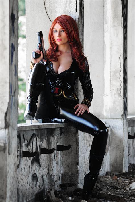 black widow hot best black widow cosplay fantasy sexy pinterest