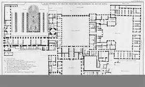 House Plans And Designs file palais royal plan g 233 n 233 ral des b 226 timens au rez de