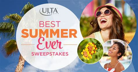 What Are The Best Sweepstakes To Enter - enter the ulta beauty best summer ever sweepstakes for a