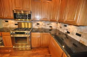 Kitchen Countertop Tile Design Ideas Granite Countertops And Tile Backsplash Ideas Eclectic