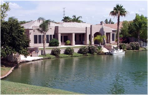 arizona waterfront homes 187 val vista lakes