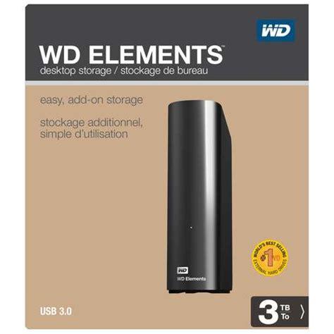 Wd Elements 4tb 3 5 Quot wd hd element externo 3 tb 3 5 quot usb 3 0