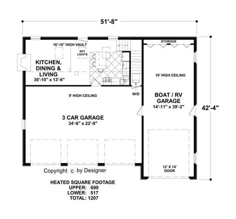 Grande 3 Car Garage Plans by The Grande Carriage House 3328 2 Bedrooms And 1 5 Baths